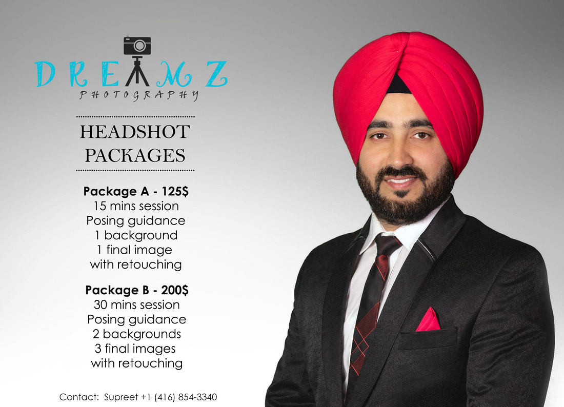 headshot promo